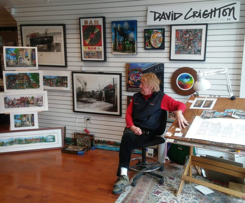 David Crighton Art Prints Charming Custom Framing